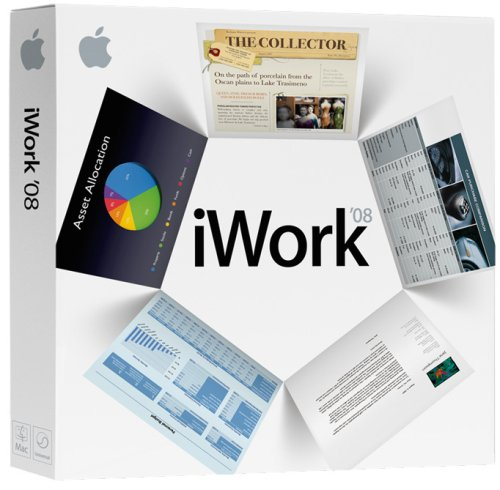 Apple iWork '08 EN CD