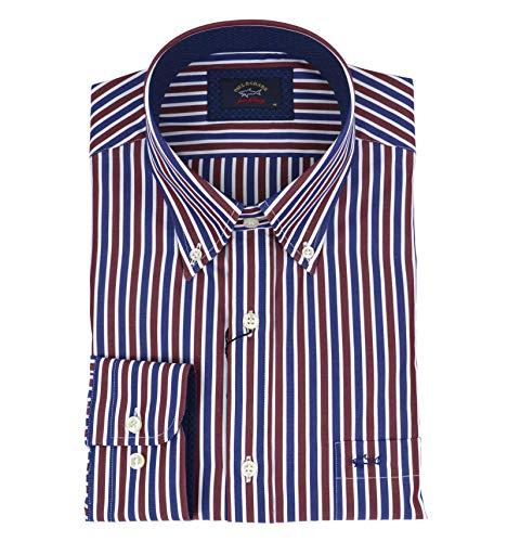 Paul & shark casual, cotton, shirt, 44 it
