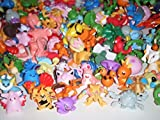 #8: DELITE - PokeEmon Mini toy figures - 24 pcs. pack - Random characters - Size 1- 1.5 inches ( 2-3 cms.)
