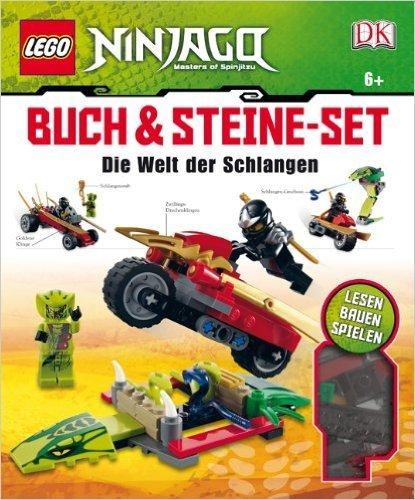 LEGO Ninjago Buch & Steine Set, m. Steine-Set (147 LEGO Elemente u. 2 Minifiguren): Die Welt der Schlangen von Dorling Kindersley Verlag ( 27. September 2012 )