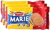 #1: Parle Big Bazaar Combo Marie Biscuit, 250g (Buy 2 Get 1, 3 Pieces) Promo Pack