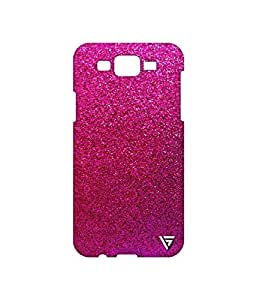 Vogueshell Sparkle Pattern Printed Symmetry PRO Series Hard Back Case for Samsung Galaxy J7