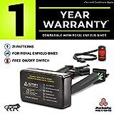 #7: Autofy 1 YEAR WARRANTY StreetGod Plug and Play Highway Indicator Flasher Relay for Royal Enfield (LED & Bulb Indicators)