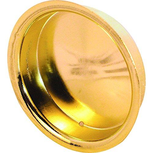 prime-line Produkte mp6698Einsteckschloss Schrank Tür Pull, 5/16In. Tiefe x 2in. Außen Durchmesser, aus gestanztem Stahl, Messing vergoldet Finish, 5Stück (Line Prime Guide)