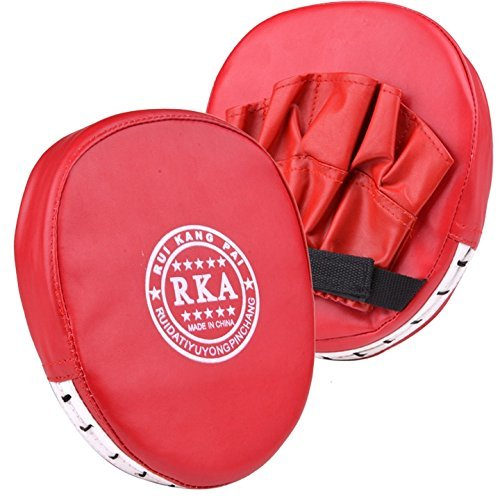Target Focus Punch Pad Handschuh MMA Karate Muay Kick Kit ()
