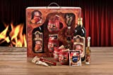 Feuerzangentasse Geschenkset Wurzelholz-Design Feuerzangenbowle rot Störtebeker