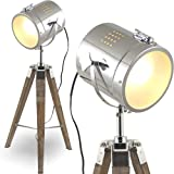 mojoliving MOJO® Tripod Lampe Leselampe Leseleuchte Dreifuss Schreibtischlampe l32