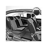 DBS 1012594 Housse de siège Auto/Voiture - Sur Mesure - Finition Haut de Gamme - Montage Rapide - Compatible Airbag - Isofix