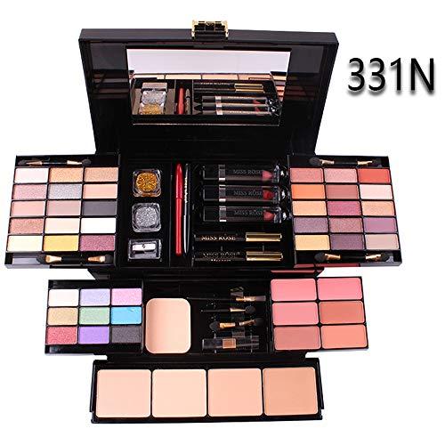 Kuccy Eyeshadow Palette Profi Verformbar 49 Farben Lidschatten Palette Eyeshadow Make Up Kosmetik...