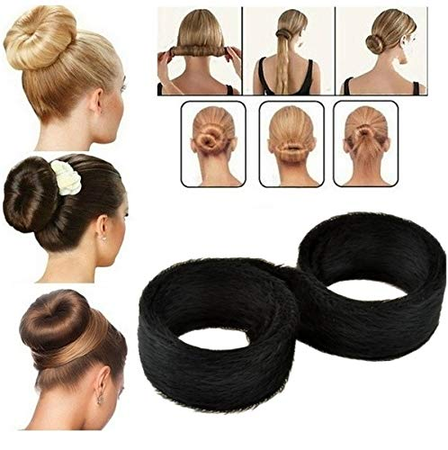 Haar Frisurenhilfe Knotenrolle Dutt Haarknoten Haarstyler Topsy Tail Hair Bun
