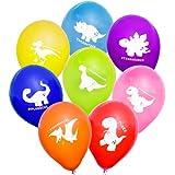 "Uninflated 12"" Cheeky Dinosaurs Balloons Asstd 8 Pack"
