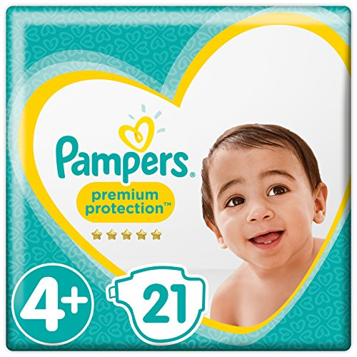 Pampers Premium Protection Gr.4+ Maxi Plus 9-18kg Tragepack