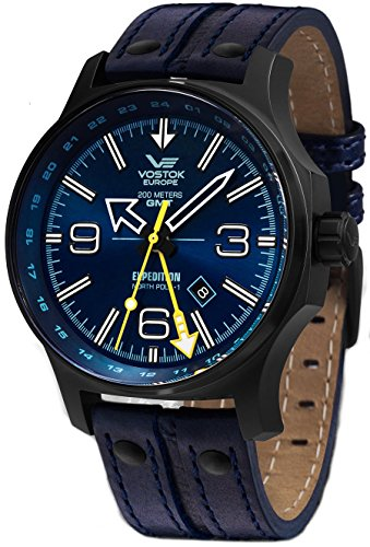 Vostok Europe Expedition North Pole 1 Dual Time 515.24H-595C503