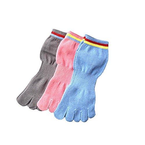 Fashion ER Fashion ER 1 Paar Frauen Zehensocken Antibakterielle Deodorant Baumwolle Socken Soft Breathable Warm One Size Fit Alle (1) (Deodorant Soft)