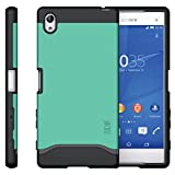 TUDIA Slim-Fit MERGE Dual Layer Protective Case for Sony