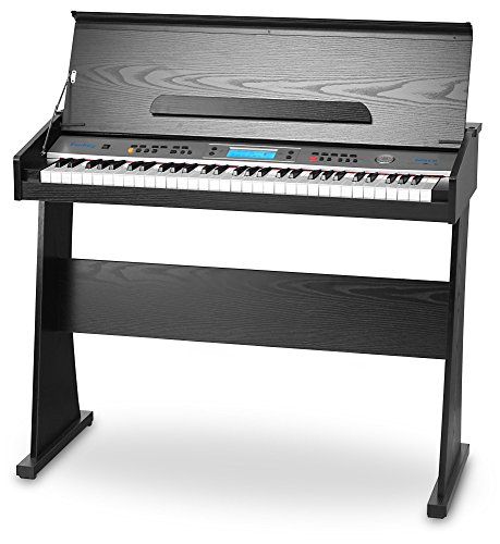 FunKey II DP-61 - Piano digital con soporte, color negro