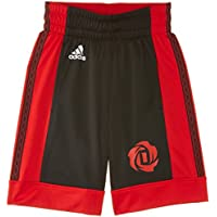 adidas Jungen Short Rose schwarz Black/Light Scarlet Size