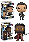 Funko Pop! Thor Ragnarok: Valkyrie + Heimdall – Marvel Vinyl Bobble-Head Figure Set New
