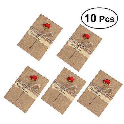 NUOLUX 10 paquete Tarjetas felicitación vendimia