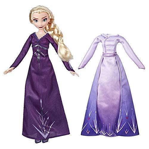 Disney La Reine des Neiges 2 - Poupee Princesse Disney Elsa - Robe et chemise de nuit