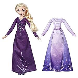 Hasbro Disney Frozen 2 Fashion + Extra Vestido Elsa,, E6907ES0