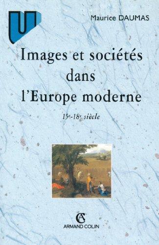 Images et sociétés dans l'Europe moderne : 15e-18e siècles (Histoire)
