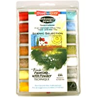 Stampendous Scenic Selection - Kit de polvos para estarcido (14 unidades)