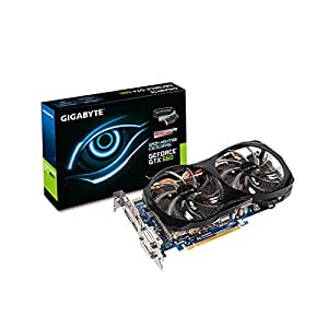 Gigabyte N660OC-2GD Carte graphique Nvidia Geforce GTX660 2048Mo 1033Mhz PCI-Express 16x