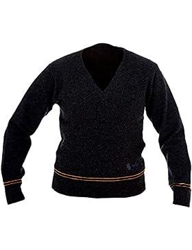 Harry Potter - Maglione della casa di Tassorosso - Licenza originale - In lana di agnello