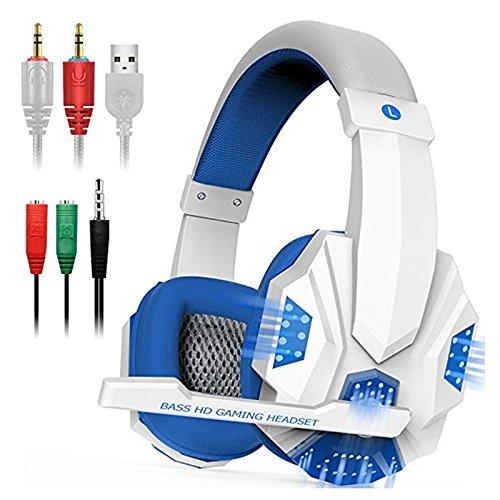 Cheyenne Gaming-Headset für PS4 / PC/Xbox One Bass-Surround-Kopfhörer, Geräuschisolierung, Turtle Beach mit LEDMic 3,5 mm Stealth Hornet Multi Format Gaming Headset