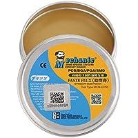 Akozon Pasta de Soldadura MCN-UV50, Pasta Soldar facilitar la soldadura y estañado de metales, para PCB/BGA / PGA/SMD 30g