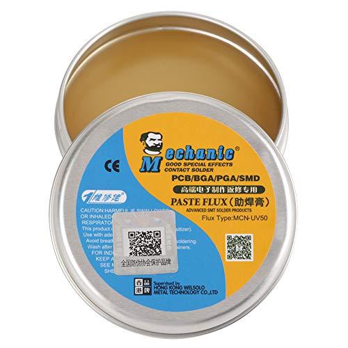 MCN-UV50 Soldador eléctrico Flux Paste Flux Soldering Tin Flux para PCB/BGA/PGA/SMD