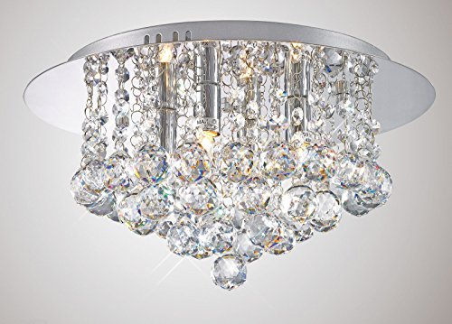 modern-elegant-round-chandelier-ceiling-light-crystal-effect-droplets-simply-stunning