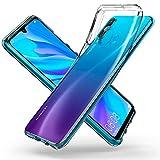 Spigen L39CS25740 Liquid Crystal Kompatibel mit Huawei P30 LITE Hülle Transparent TPU Silikon Handyhülle Durchsichtige Schutzhülle Case - Crystal Clear