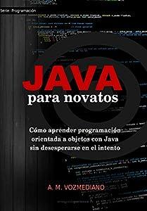 programación: Java para novatos: Cómo aprender programación orientada a objetos con Java sin d...