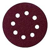 Bryson 07298 Velcro con dischi abrasivi per levigatrici orbitali, 240 B Grit, 150 mm, confezione da 50