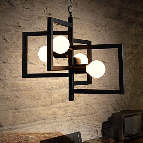 ronleuchter moderne einfache kreative kronleuchter europäischen pastoralen wohnzimmer lampe restaurant schlafzimmer kunst vier köpfe kronleuchter hohe helligkeit e27 lichtquelle ke ()