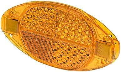 Prophete Speichenreflektoren Speichen-Reflektoren mit Sicherheitsclips, 4 Stück, Orange, L, 5256