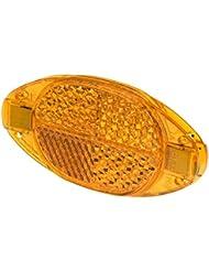 Prophete Speichenreflektoren Prophete Speichen-Reflektoren mit Sicherheitsclips, 4 Stück, orange, L, 5256
