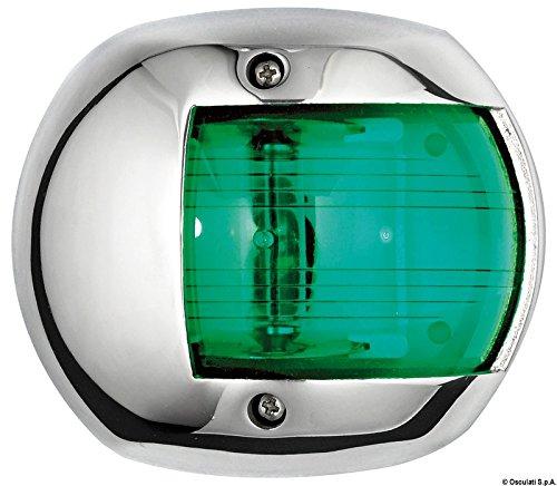 Osculati 11.406.02 - Compact 12 Navigationslicht AISI 316/112,5° grün
