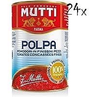 24x Mutti Polpa di Pomodoro Italian Pulped Tomato Sauce for Pasta 400 100% Italian!
