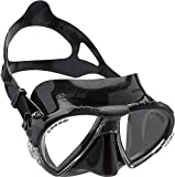 Cressi Matrix Máscara de Buceo y Snorkeling, Unisex Adulto, Negro, Talla única