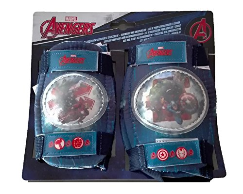 Kit Proteccion Niño Codos Rodillas Los Vengadores Bicicleta Patinete 35704 6208