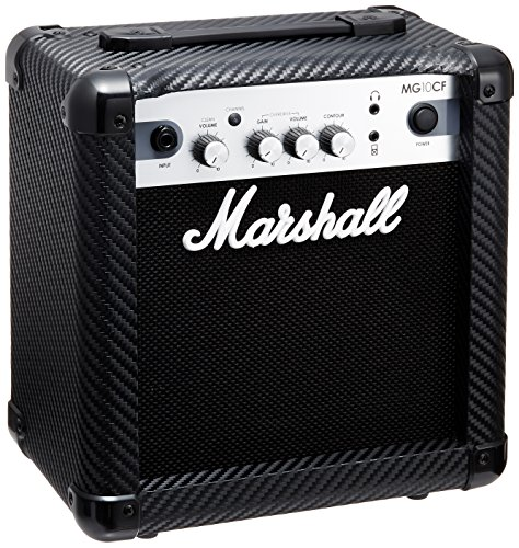 MARSHALL MG10CF - CARBON/SILVER FINISH AMP Electric guitar amplifiers Solid-state guitar combos