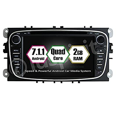 7.1Android GPS DVD USB SD Wi-Fi Bluetooth Autoradio 2DIN GPS Ford Mondeo/Ford Focus/Ford S-Max/Ford C-Max/Ford Galaxy de is