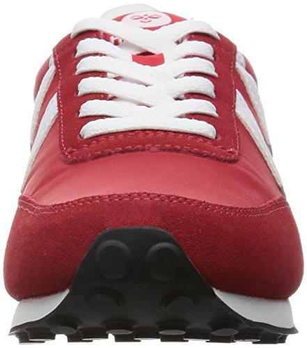 Hummel Seventyone Lo Unisex-Erwachsene Low-Top Rot (Ribbon Red 3425)