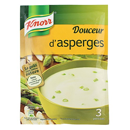 Knorr Soupe Douceur d'Asperges pour 3 portions 96 g - Lot de 6