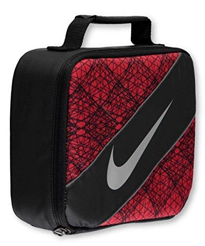 Nike Große Isolierte Lunchbox, Polyester, Black/University red,
