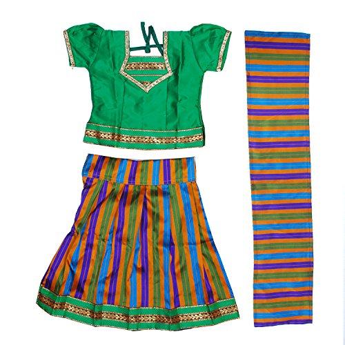 Light Gear Girls Choli Lehenga ( 1 to 10 Years,Ethnic wear for...