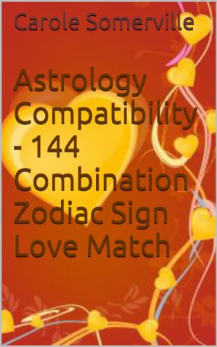 Astrology Compatibility 144 Combination Zodiac Sign Love Match (Star Sign Compatibilities)